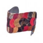 Гривна с разноцветни кожени пендари Dannyry Jewels AW12B25